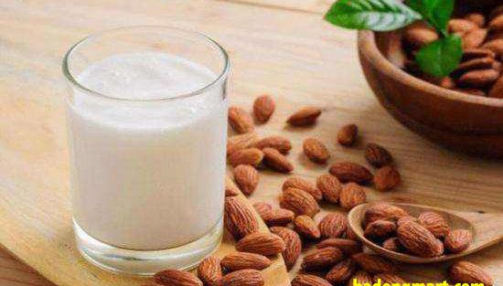 Tác dụng của sữa hạnh nhân