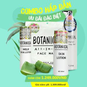 Bộ sản phẩm dưỡng da Botanical
